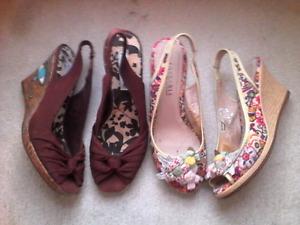 Cute wedge shoes 5.5