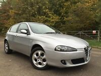 Alfa Romeo 147 automatic leather*new timbelt water pump*