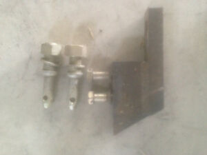 Massey 285 - three point hitch pins and drawbar extension