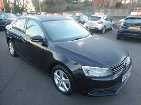 VW Jetta SE TDI BLUEMOTION TECHNOLOGY DSG (met black) 2012