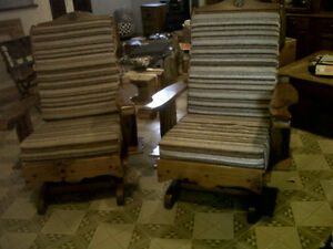 Rocking chairs - Chaises bercantes