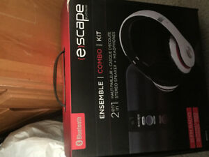 Escape Stereo speaker + headphones