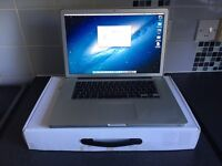 """2012 MACBOOK PRO 15"""" BOXED SSD"""