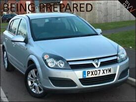 2007 (07) Vauxhall Astra 1.4i 16v Active 5 Door