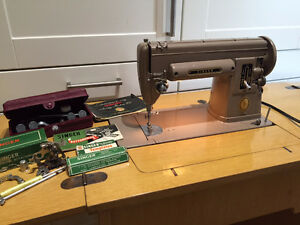 Singer Sewing Machine 301 - Portable and Cabinet