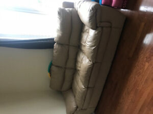 real leather sofa for sell