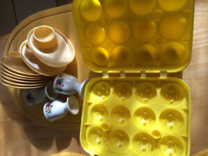 Plastic Egg Carton Egg Storage Tray, Egg Cup Holders $5.00