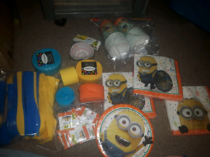 MINIONS PARTY SUPPLIES PICKUP IN HANOVER AREA