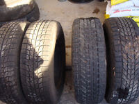 Used 215 70R 15 Winter Tires and Rims