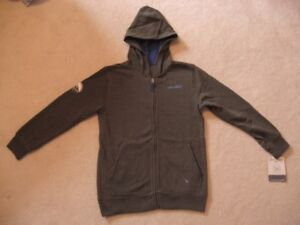 Eddie Bauer Boys Fleece Hooded Sweater (Brand New With Tag)