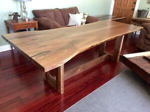 Rustic barnboard live edge custom tables cabinets benches doors Cambridge Kitchener Area image 8