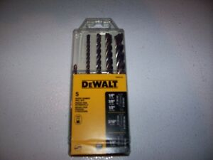 **NEW** DEWALT ROTARY HAMMER DRILL BITS (SDS PLUS)