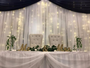 backdrops for wedding and events! SPECIAL PROMO before NEW YEAR