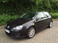 Volkswagen Golf GT TDI 140 bhp, Black 58 Plate, 2 Owners, HPI Clear