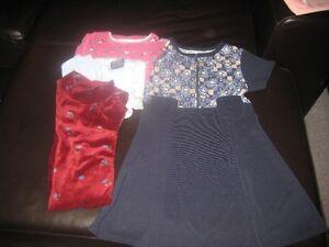 Lot de vêtements pour fille - taille 7 ans