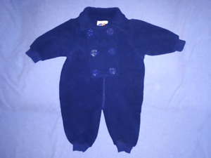 Cute Baby/Toddler Nautical Outfit Size 12mts,CarSeat Safe,EUC