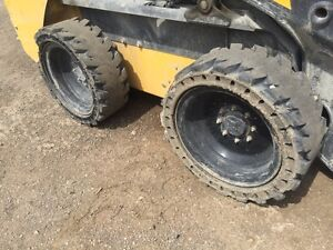 12-16.5 Solid Flex Tires – Set of 4 Used Tires
