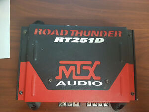 MTX RT251D Amplifier 250 Watt