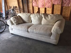 Living Room Set - Couch, Chair & a Half and Ottoman