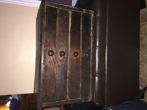 Antique hardware cabinet