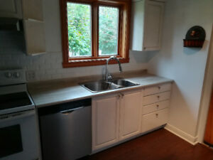 Detached two story House in center Lachine. 1st July,1500/month
