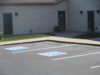 parking line painting