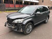 Honda CR-V 2.2i-DTEC auto 2010MY. HPI CLEAR. NOT ON REGISTER. STARTS & DRIVES.