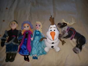 Disney Frozen Plush Dolls