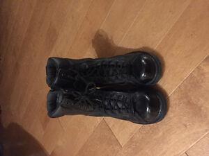 Women's Harley Davidson steel toe boots