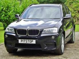 2011 BMW X3 XDRIVE20D 2.0 M SPORT Manual Estate