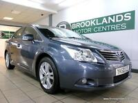 Toyota Avensis 2.2 D-4D 150 T4 [5X SERVICES, SAT NAV, LEATHER, HEATED SEATS and