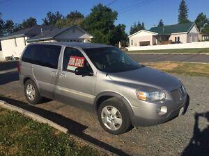 2007 Pontiac van. Low mileage, original owner