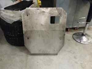 S14 240sx skid plate, air dam