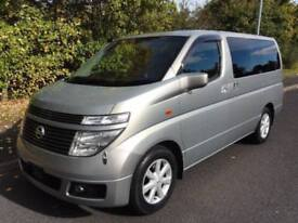 2003 Nissan Elgrand XL TOP SPEC HI GRADE FRESH IMPORT 3.5 5dr
