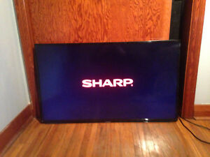 """40"""" Sharp tv works ok HDMI slots need to be fixed best offer!!"""