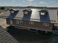 AFFORDABLE METAL ROOFING AND SIDING WITH CUSTOM BENT FLASHINGS!