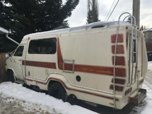 1981 Chevy Camper Van Wide Body