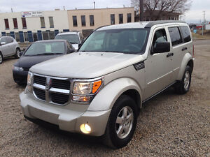 2008 DODGE NITRO 4X4 IN VERY GOOD CONDITION REMOTE STARTER