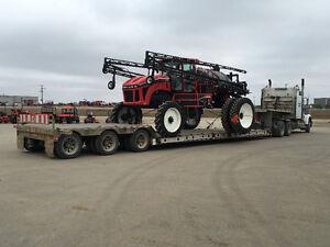 Farm Equipment hauling & towing.