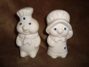 Pillsbury Doughboy Cookie Jar & Salt & Pepper Shakers Kitchener / Waterloo Kitchener Area image 2