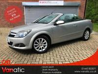 2008/08 Vauxhall Astra 1.8i 16v Coupe Twin Top Sport
