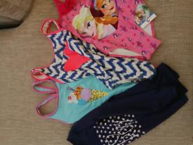Girls age 5-6years swimwear bundle