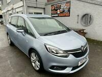 2017 (17) VAUXHALL ZAFIRA 1.4 SRI 5DR Low miles 7 seats