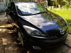 2011 Mazda 3 Sport GT 73000 km cuir toit ouvrant A/C bluetooth