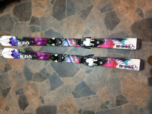 EUC Youth skis