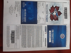 Jays tickets x 2 wed aug 30
