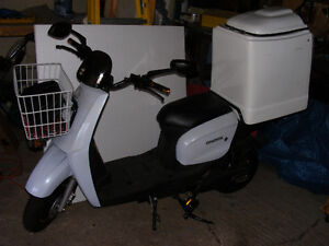 daymak utility deluxe electreic scooter