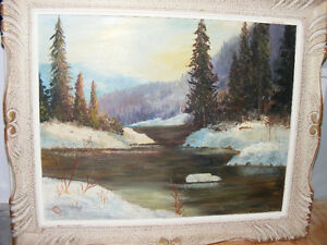 ORIGINAL OIL WORKS by    F. J. Briant London Ontario image 1