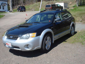2005 SUBARU OUTBACK TURBO LOADED GREAT CONDITION REDUCED