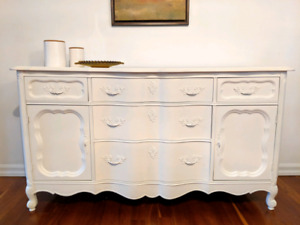 Vintage French Provincial Buffet / Sideboard